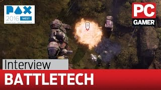 BattleTech Interview - The Mech Strategy Game We've All Been Waiting For