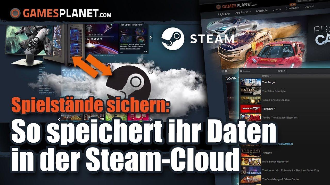 Steam Spielstände
