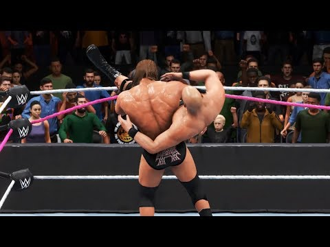 WWE 2K20 - Triple H vs Steve Austin.