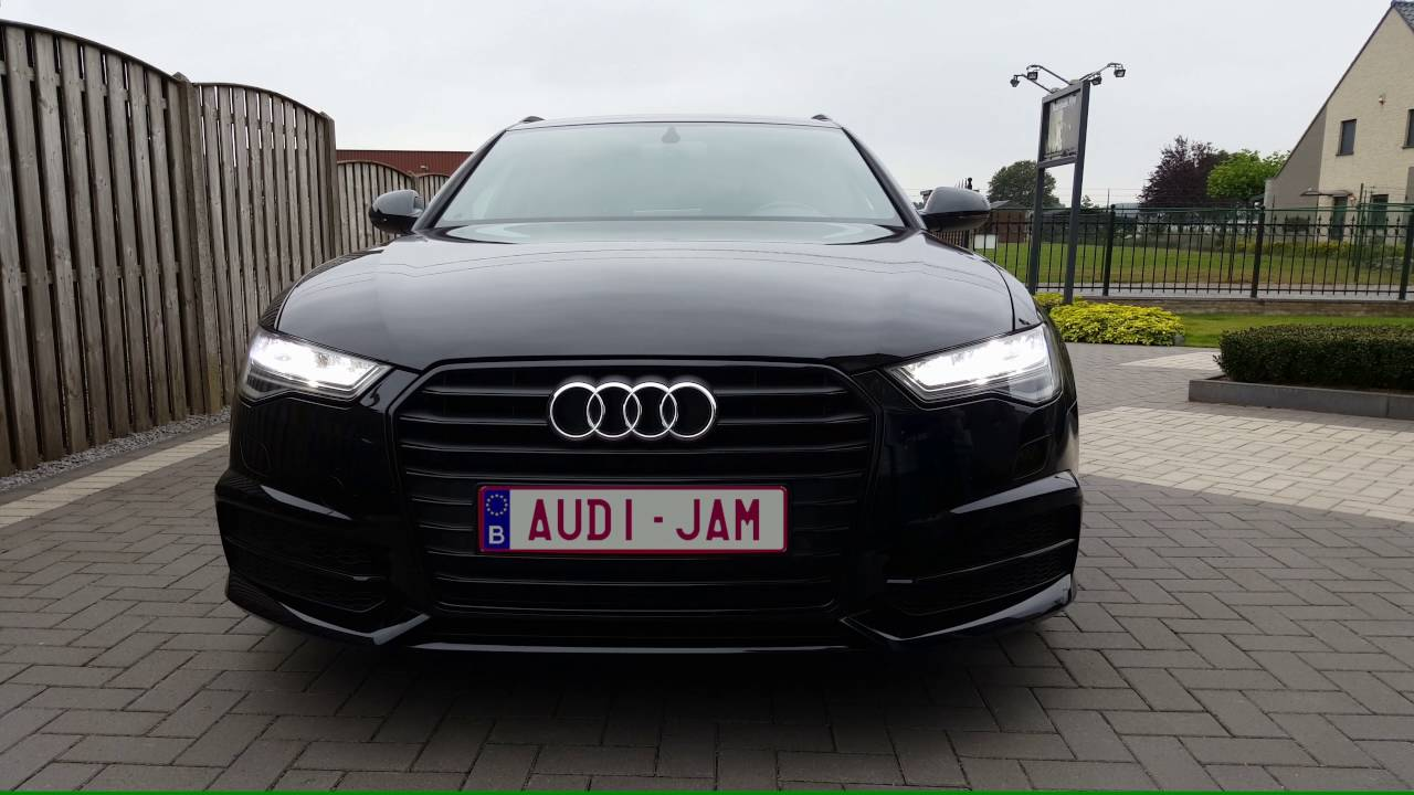 audi a6 c7 facelift full led youtube. Black Bedroom Furniture Sets. Home Design Ideas