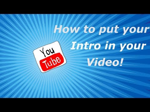 How to put your panzoid intro in your youtube video (updated 2018)