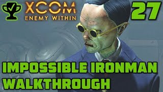 Sneaky Stealthy - XCOM Enemy Within Walkthrough Ep. 27 [XCOM Enemy Within Impossible Ironman]