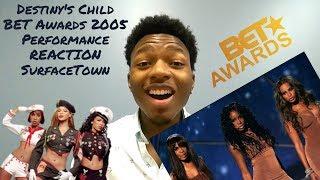 Destiny's Child BET Awards 2005 performance REACTION #SurfaceTown