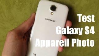 Test appareil photo Galaxy S4 + comparaison avec l'iPhone 5