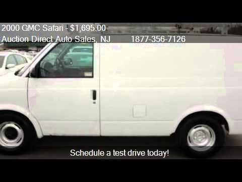 2000 Gmc Safari Cargo Van For Sale In Jersey City Nj 0730 Youtube