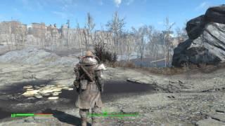 Fallout 4 - Cage Armor Details & Appearance (Tower Tom's Special Armor) Gameplay Demonstration