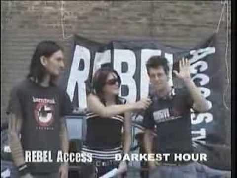 Rebel Access tv interviews Darkest Hour
