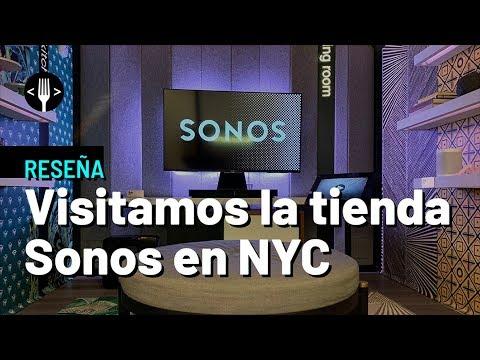 Conoce la tienda de Sonos de Nueva York