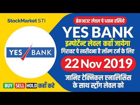 YESBANK Share News | Bse Nse Yesbank Share Price Buy Sell Target 22 November | Yes Bank Stock News