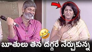 Jagapathi Babu Makes Fun of Vani Viswanath | Jaya Janaki Nayaka Movie Team Funny Interview