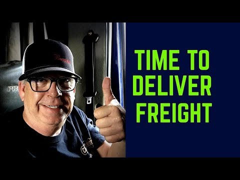 Time To Deliver Freight