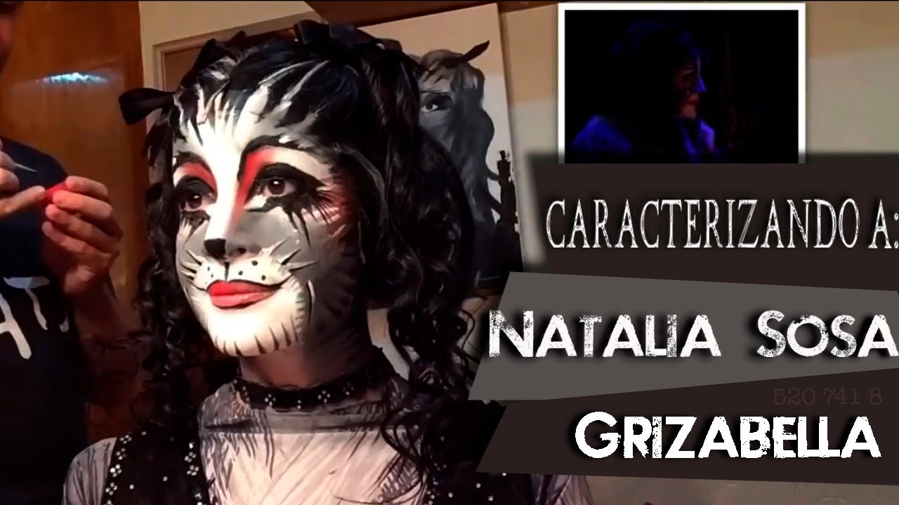 Grizabella CATS Make,Up , Natalia Sosa (México 2013,2014)
