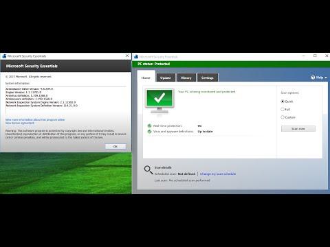 install security essentials on windows server 2012 r2