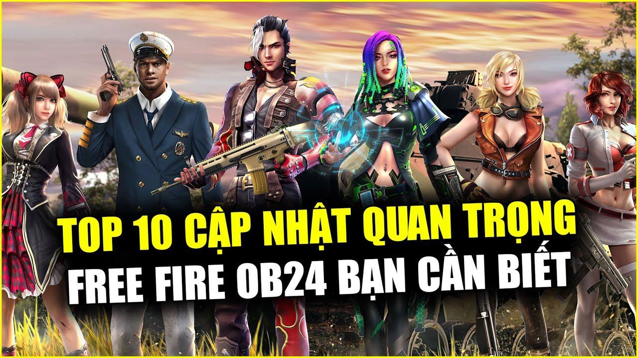 Free Fire | TOP 10 Cập Nhật OB24 FREE FIRE Quan Trọng Bạn Cần Biết | Rikaki Gaming