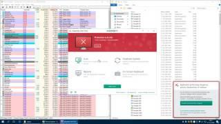 Kaspersky Antivirus 2017 System Watcher Test (Impressive results!)