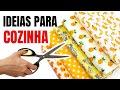 6 DEIAS INCRÍVEIS PARA DECORAR SUA COZINHA  ✂️   SHOW DE ARTESANATO
