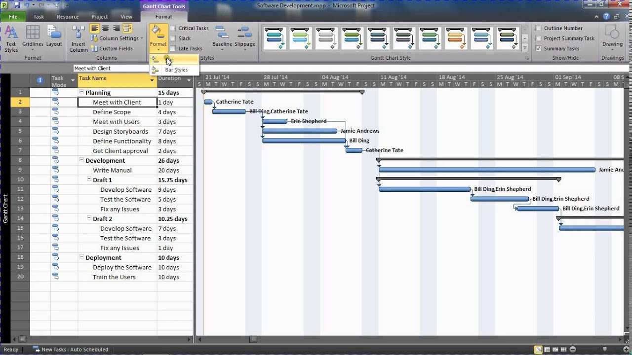 Display task name next to bars on gantt chart youtube geenschuldenfo Gallery