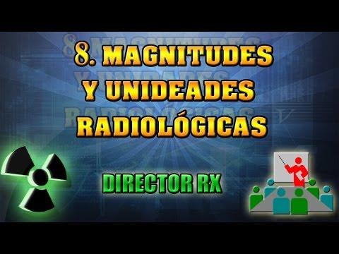 8 Magnitudes y unidades radiológicas.    Pedro Ruiz Manzano