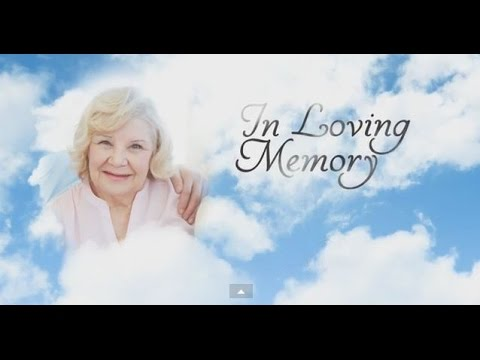 memorial templates by memory magic youtube. Black Bedroom Furniture Sets. Home Design Ideas