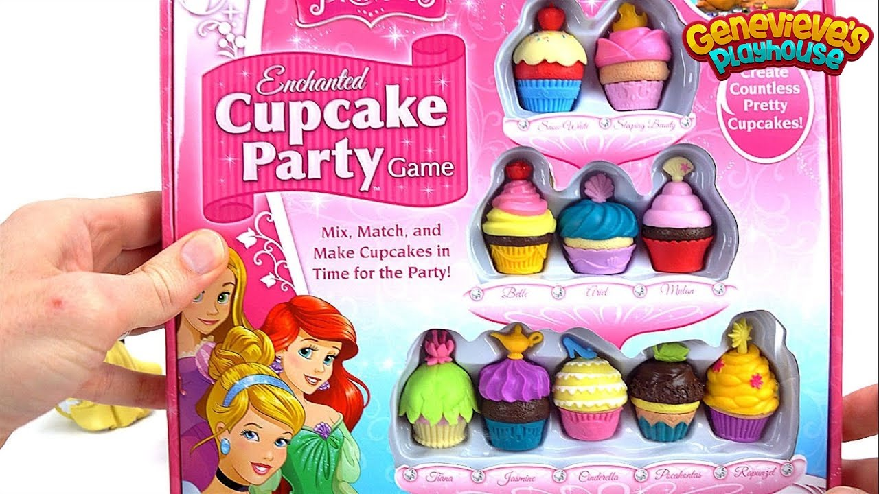 Best Disney Toys And Games For Kids : Disney princess cupcake party game youtube