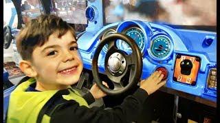 Playing Car Games  * Nursery Rhymes For Kids * Muffin Man Song / Kids TubeFun