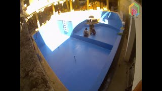 필리핀 세부 막탄 다이빙 리조트 수영장 페인트시공 (P…