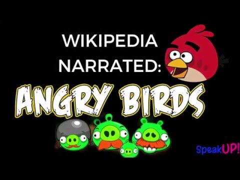 ★ ALL ABOUT ANGRY BIRDS ★ NARRATED WIKIPEDIA ARTICLE ★ Angry Birds Wiki Audio