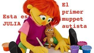 Barrio Sesamo presenta su primer muppet con autismo