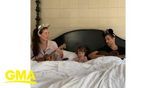 John Stamos 'It's a Small World' family sing-along doesn't go as planned