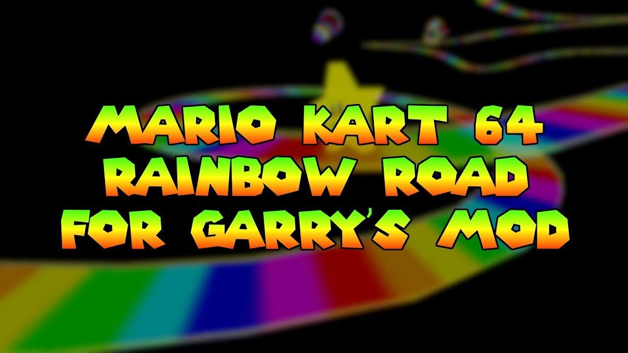 Mario Kart 64 Rainbow Road For Gmod Youtube
