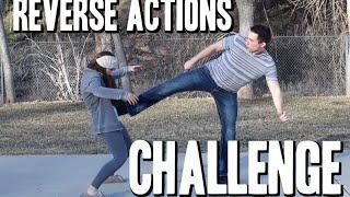 REVERSE ACTIONS CHALLENGE!!