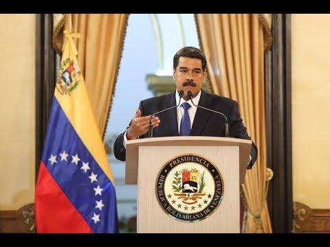 Nicolás Maduro en rueda de prensa con medios internacionales, 8 febrero 2019