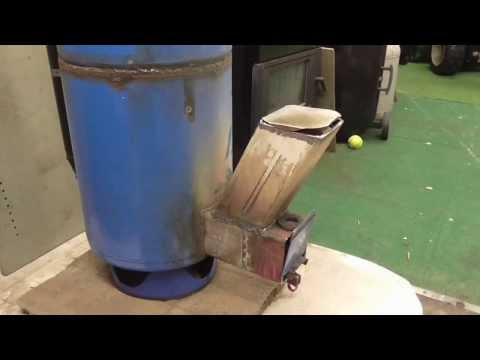 Rocket stove heater build and burn pt 2 for Heavy duty rocket stove