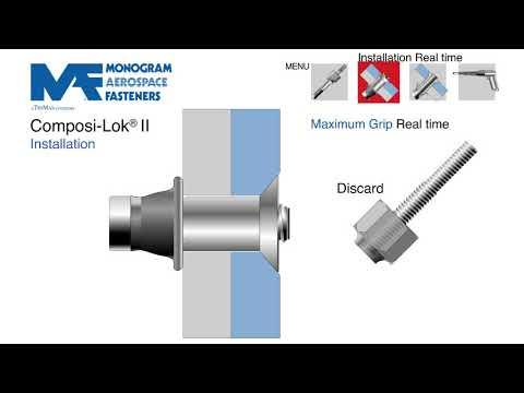 Composi-Lok® II - Monogram Aerospace Fasteners - YouTube