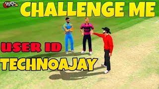 World Cricket Championship 2 Gameplay | Challenge me | USER ID - TECHNOAJAY