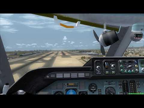 Cockpit Antonov An-124 Emergency Landing Dubai [Engine Fire]