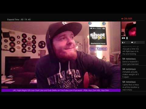 UFC Fight Night 120 Live Chat