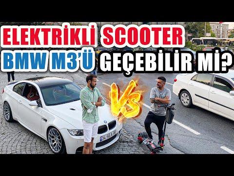 BMW M3 mü geçer? Elektrikli Scooter mı?