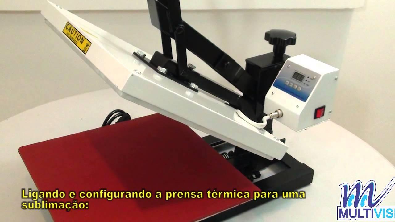 Prensa maquinatec como usar