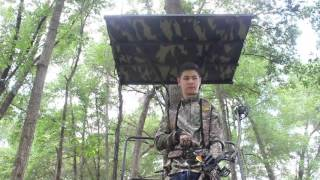 Introducing the Buck N Cover - Solid Tree Stand Roof for Hunting