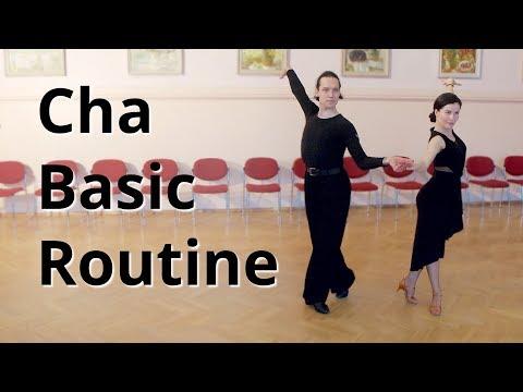 Cha Cha Basic Routine Membership Figures | Marts Smolko - Tina Bazykina