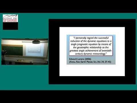 Large scale atmosphere turbulence, lecture 4/5: Quasigeostrophic dynamics and turbulence