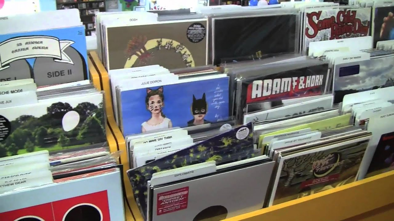 record store day 2010 at good records dallas tx youtube. Black Bedroom Furniture Sets. Home Design Ideas