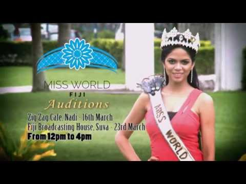 Miss World Fiji 2013 Auditions