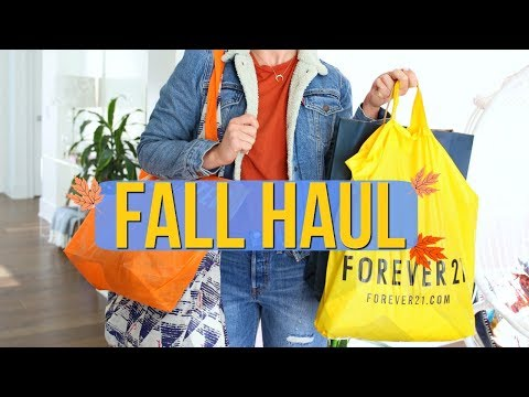Fall Clothing Haul | Urban Outfitters, Free People, Forever 21 + More!