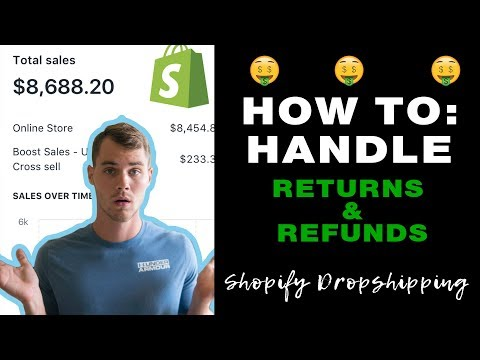 How To Handle Shopify Refunds And Returns | Shopify Dropshipping