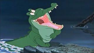 Peter Pan - Capitaine Crochet et le crocodile