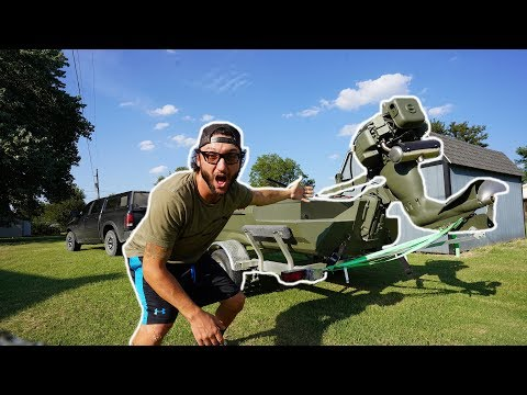 I BOUGHT MY DREAM DUCK BOAT And I'M GIVING IT AWAY!!