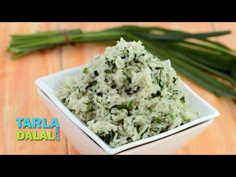Thai Green Rice by Tarla Dalal