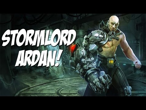Stormlord Ardan Skin & Gameplay! | Vainglory With Rumbly!